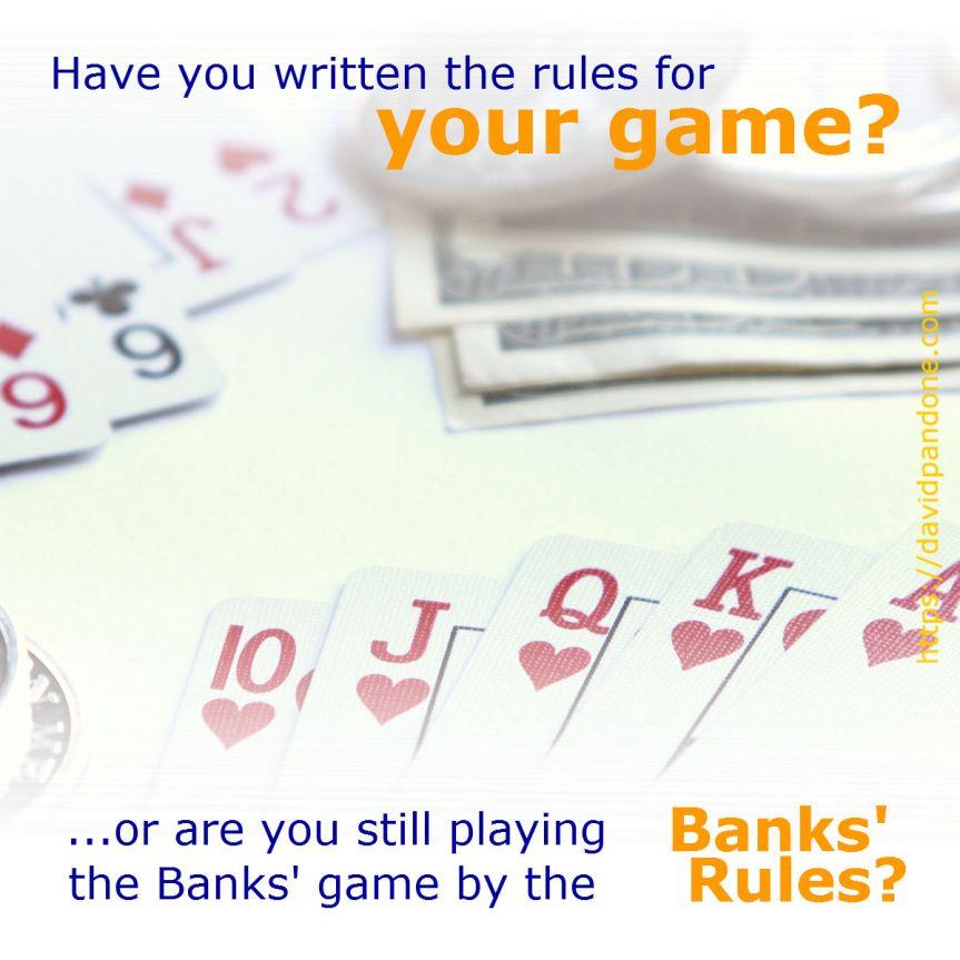 The Banks' Game