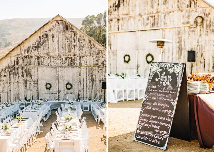 Cayucos Creek Barn Wedding Caitrin Amp Scott San Luis