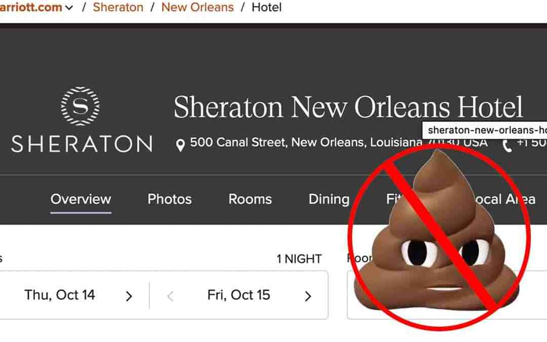 Sheraton New Orleans Marriott Properties