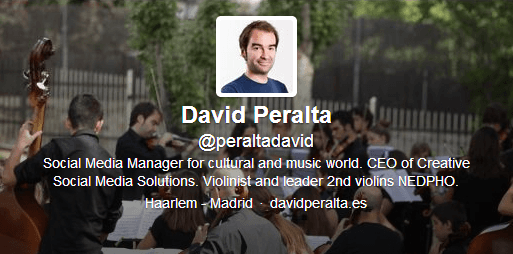 Usuarios favoritos en Twitter de David Peralta