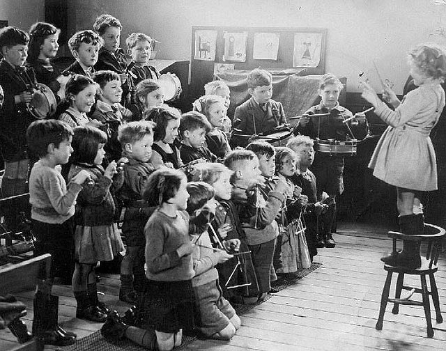 La historia de la educación musical está lejos del objetivo de los blogs