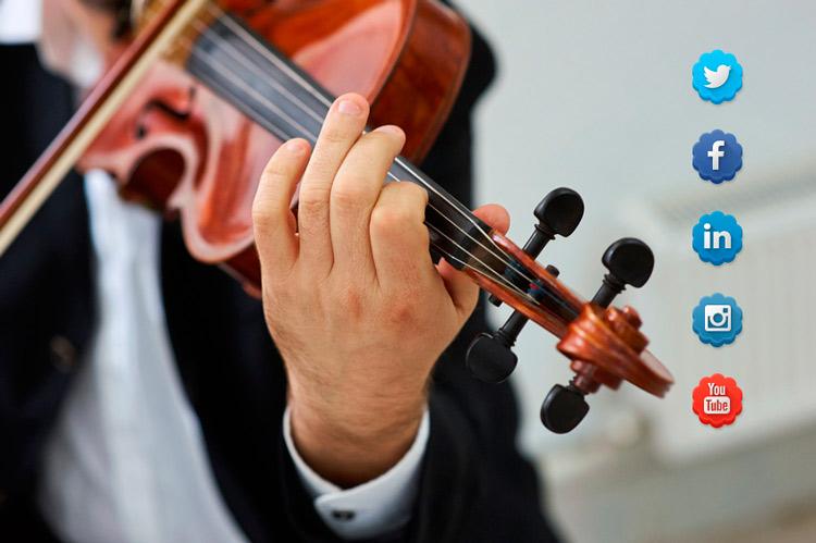 Lo que descubrí de la gestión de redes sociales aprendiendo a tocar el violín