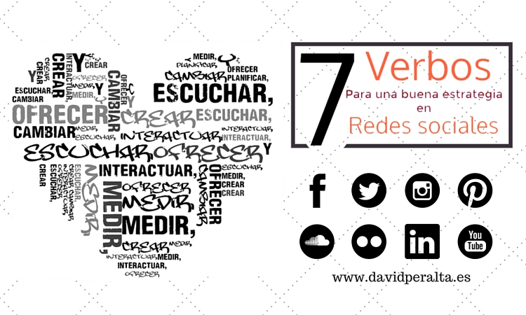 7 verbos que una buena estrategia en redes sociales debe conjugar