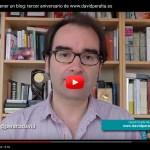 Las ventajas de tener un blog: tercer aniversario de un sueño
