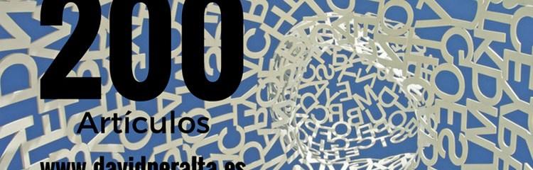 Qué decir con 182582 palabras y 200 artículos en un blog