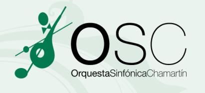 orquesta sinfonica chamartin redes sociales