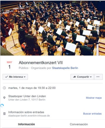 Evento de Facebook como estrategia de promoción