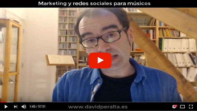 david peralta alegre webinar marketing redes sociales musicos