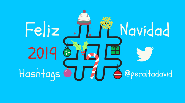 Feliz Navidad hashtags Twitter