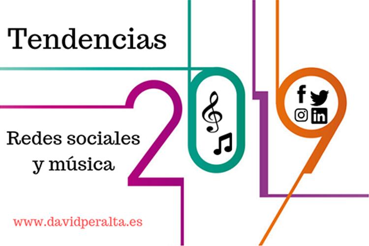 Tendencias en redes sociales mundo de la musica 2019