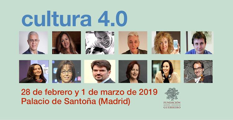 Cultura 4.0: seminario sobre tecnología, Internet y redes sociales en el sector cultural