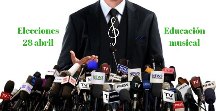 Elecciones 28 abril educacion musical