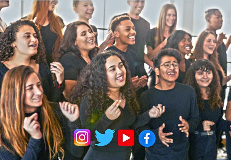 Estudiantes de musica y redes sociales
