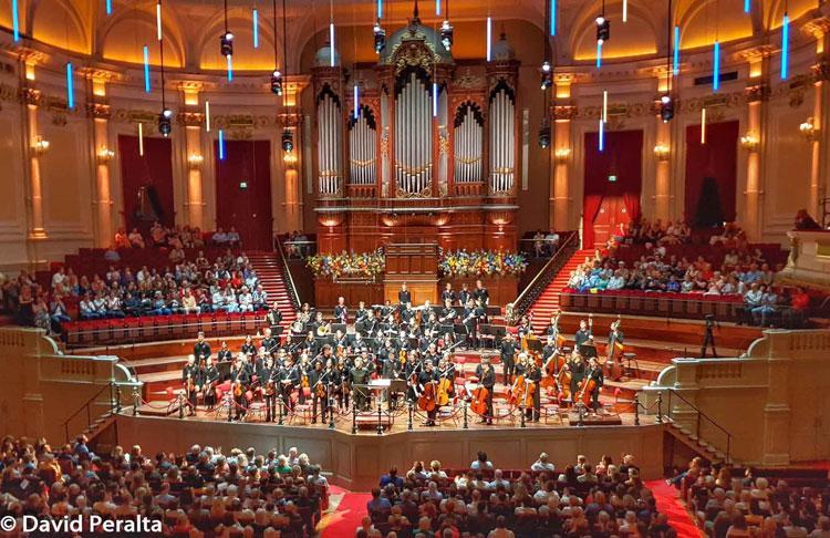 Orquesta Joven de la Orquesta del Concertgebouw de Amsterdam con Pablo Heras Casado