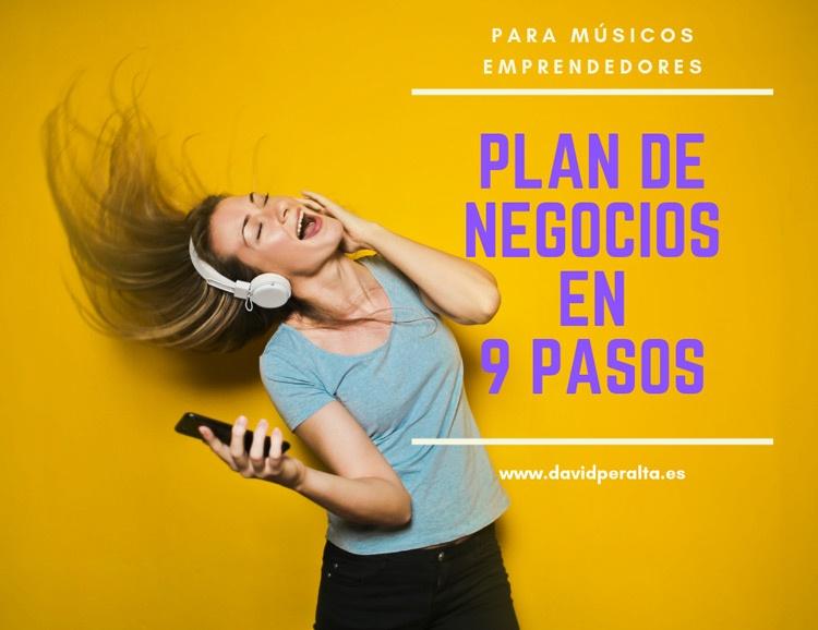 plan de negocios emprendedor musical