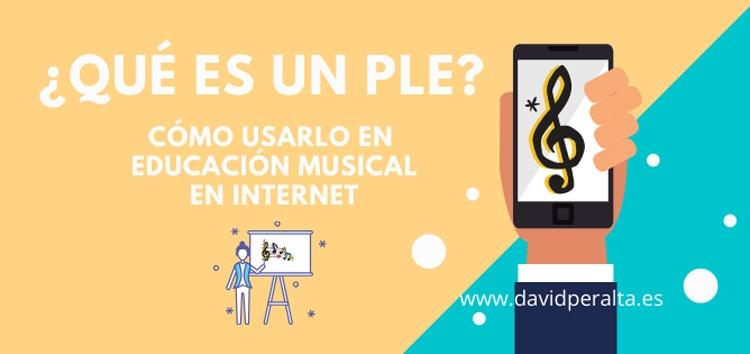 PLE educion musical a traves de Internet