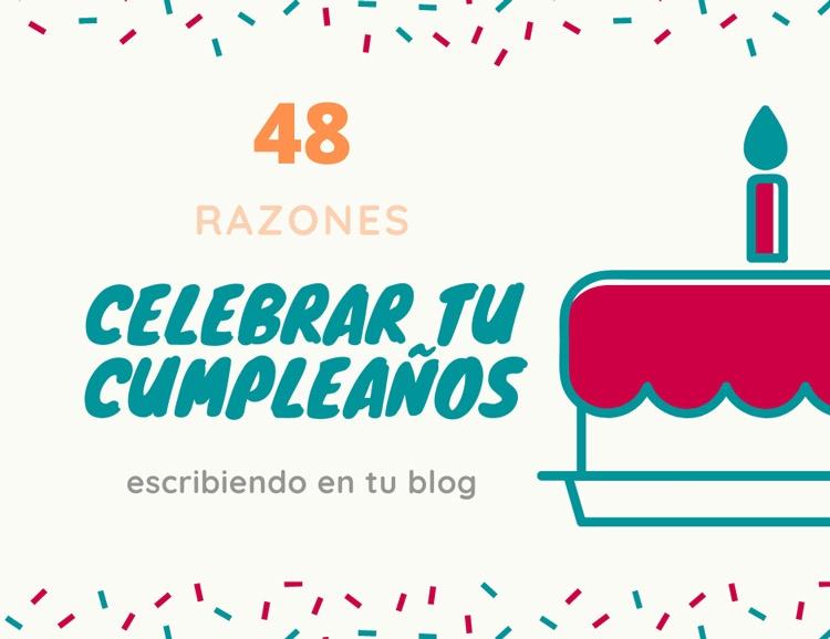 celebrar tu cumpleaños escribiendo en tu blog