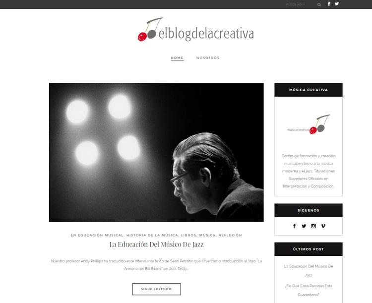 Blo de la escuela de musica creativa en madrid