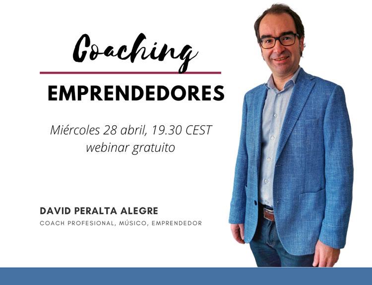 Coaching para emprendedores por David Peralta Alegre