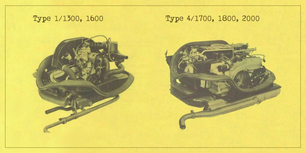 medium resolution of only type 1 and type 4 engines were installed in 68 79 vw busses