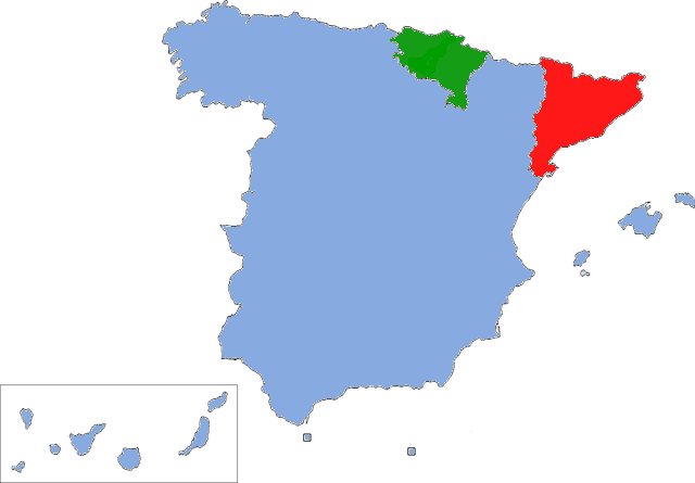 Why Is Basque And Catalan Separatism Weaker In France Than In Spain - Is spain in france