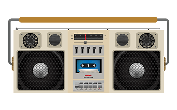 Grabadora 80's