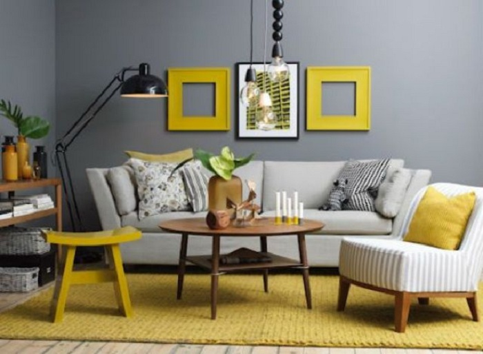 grey yellow living room design rooms with accent chairs popular gray and color concept for cherish ddr if you love sunlight want a lot of make the whole then just infuse it as wish