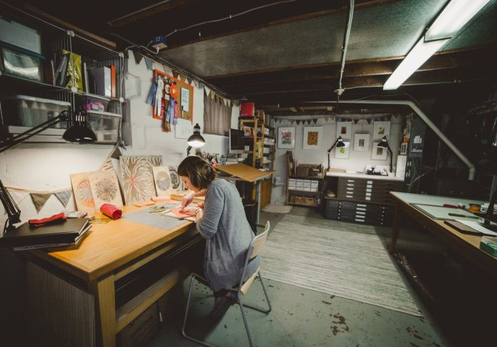 Turning Basement into a Workspace