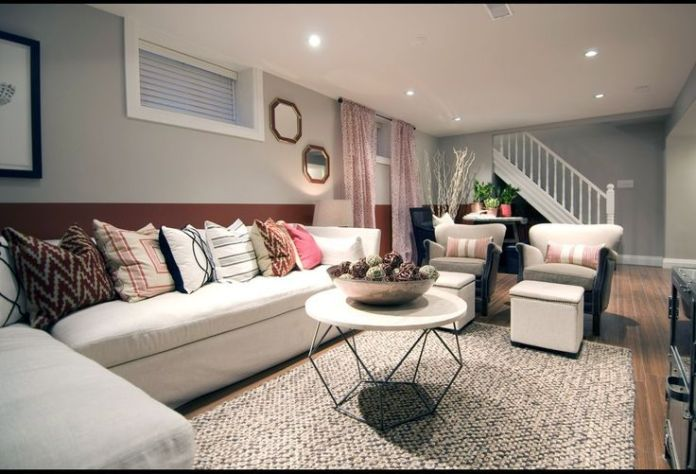 Turning Basements into a Living Room