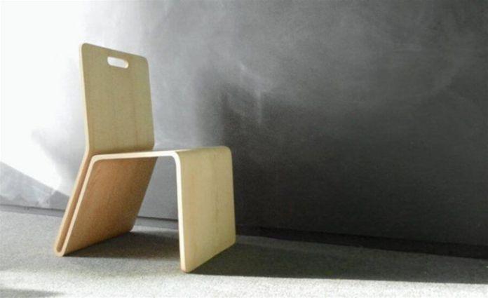 Unique Minimalist Wooden Chairs