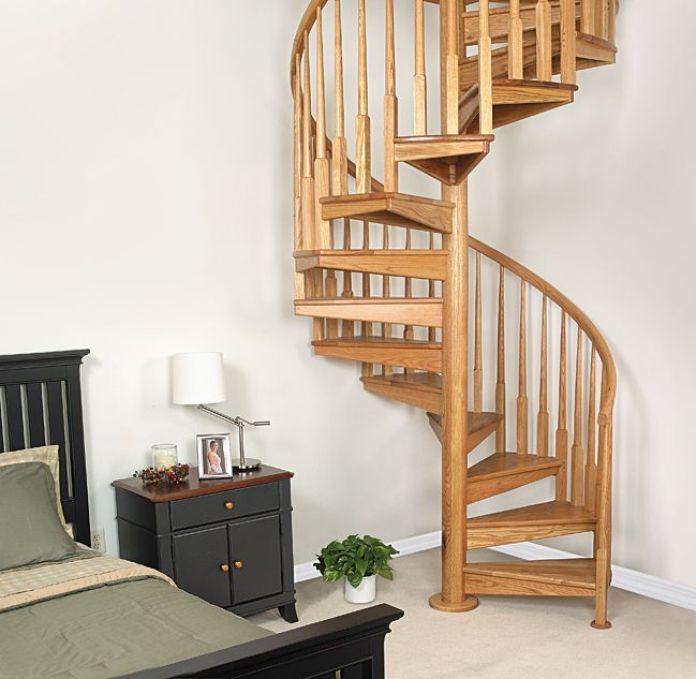 Unique Spiral Staircase Design
