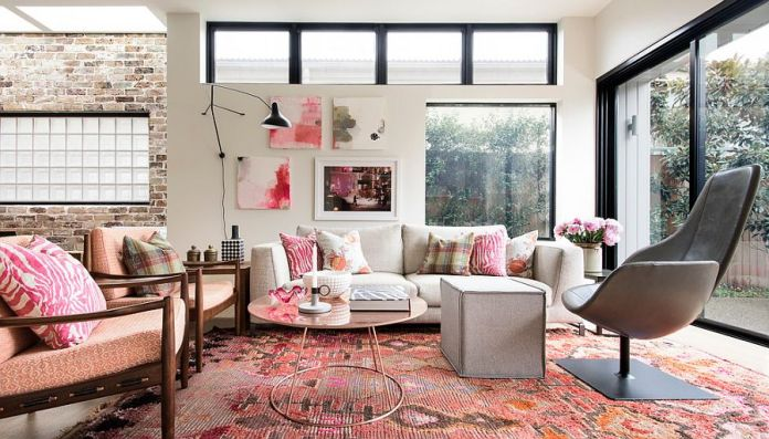 Pink Decoration with Beautiful Carpets