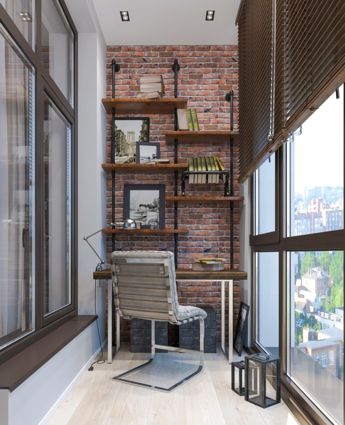 Comfortable and Aesthetic Workspace Design Ideas with Industrial Style