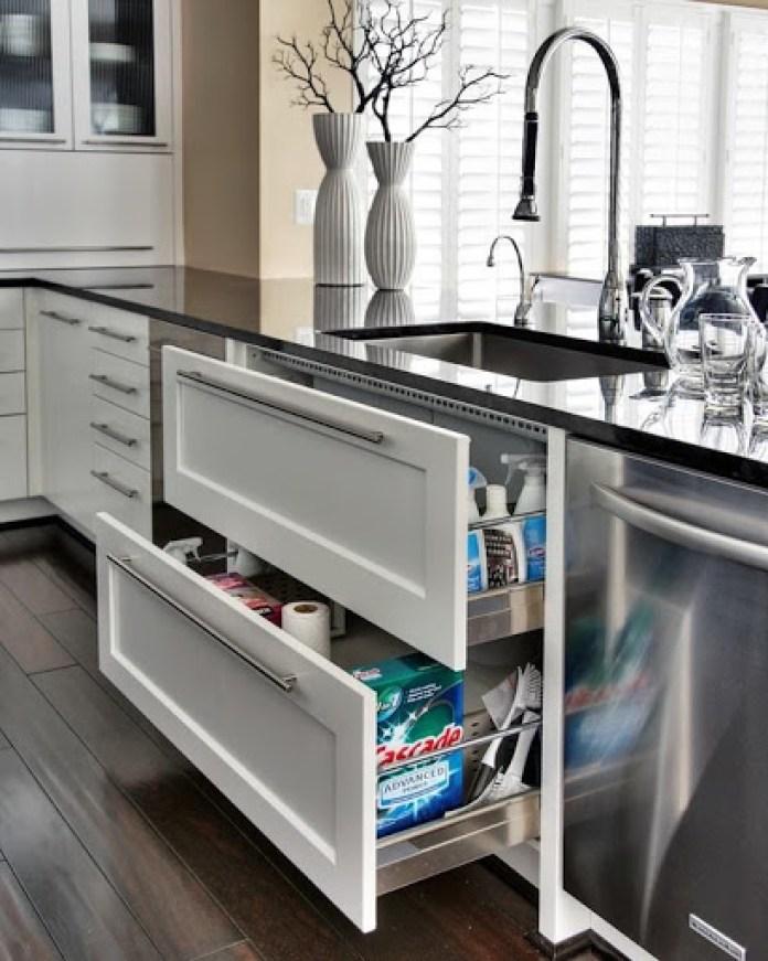 Lower Kitchen Space