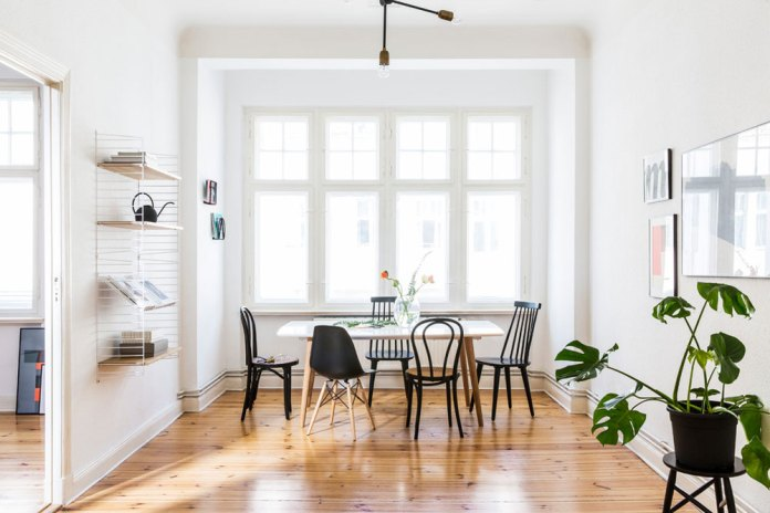 Natural Impression In White Interior