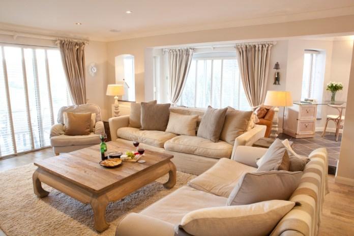 Comfortable Beige Living Room