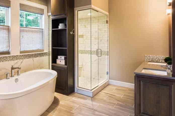 Fresh Beige Bathroom