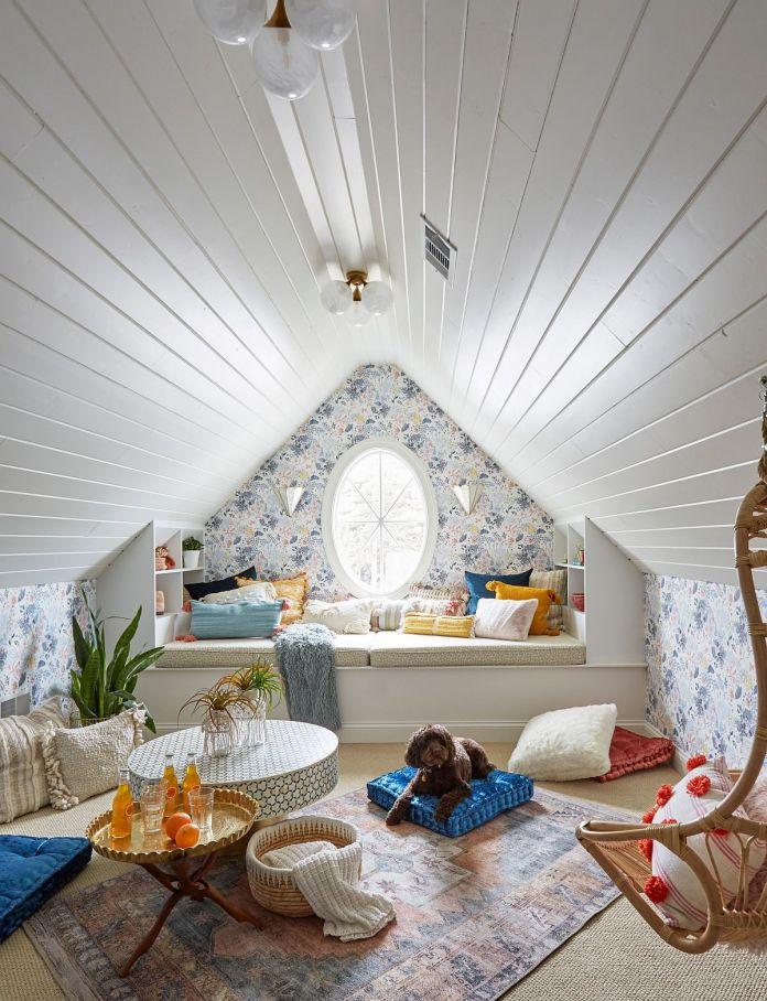 Bohemian Style Playroom