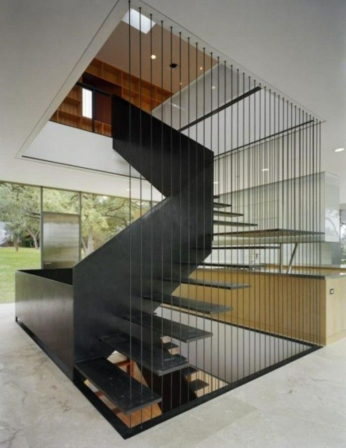 Minimalist Stairs from Iron