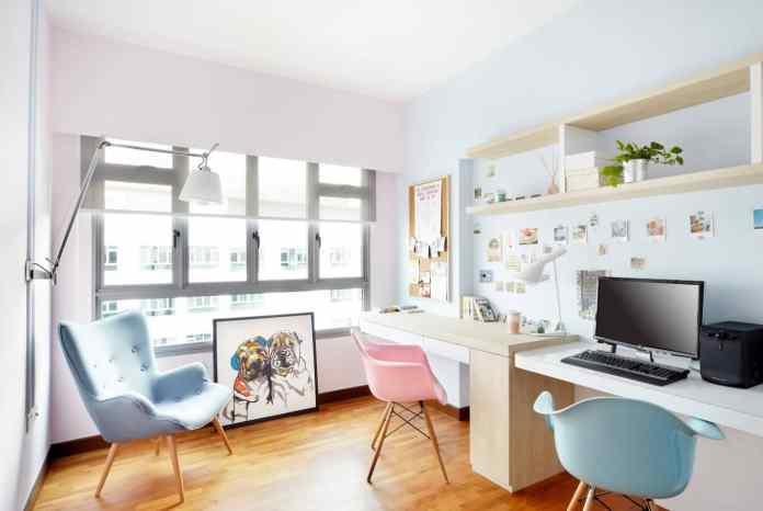 Feminine Style Study Room