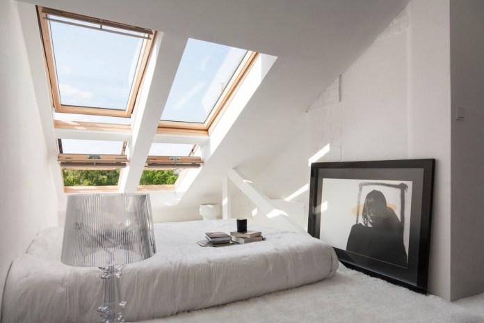 Attic Bedroom with Skylight
