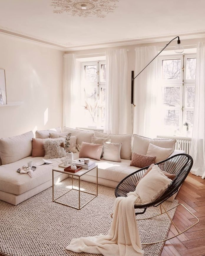 Neutral Color for The Couch