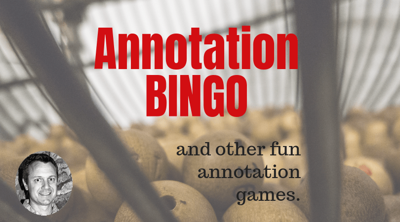 Annotation Games
