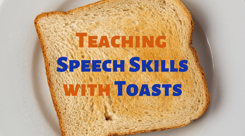 Here's To Practicing Public Speaking With Toasts