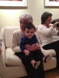 Abby and Grandma. Sadly, Abby never got to meet John.