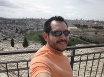 Me on the Mount of Olives. Unreal