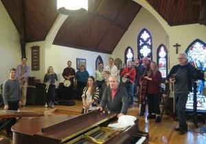 A Rather Large Acoustic Ensemble