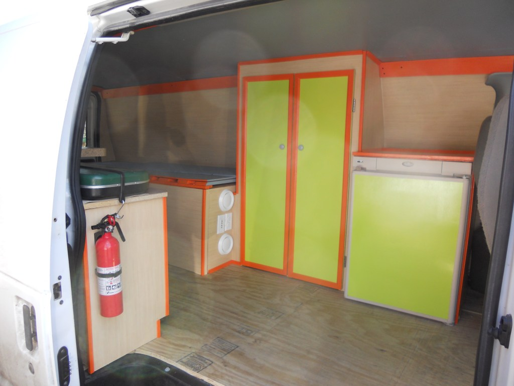 Finished campervan entry