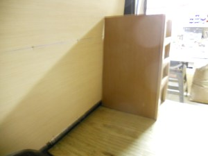 Fitted van kitchen drawers