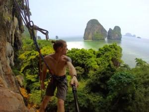 Climbing Tonsai Thailand